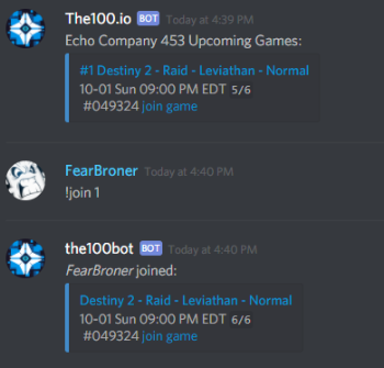 Gears of War 5 Discord Bot Join