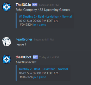 The Division 2 Discord Server